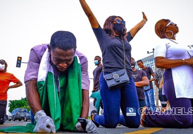 #EndSARS Protesters Proceed To Pray In Abuja – Channels Tv
