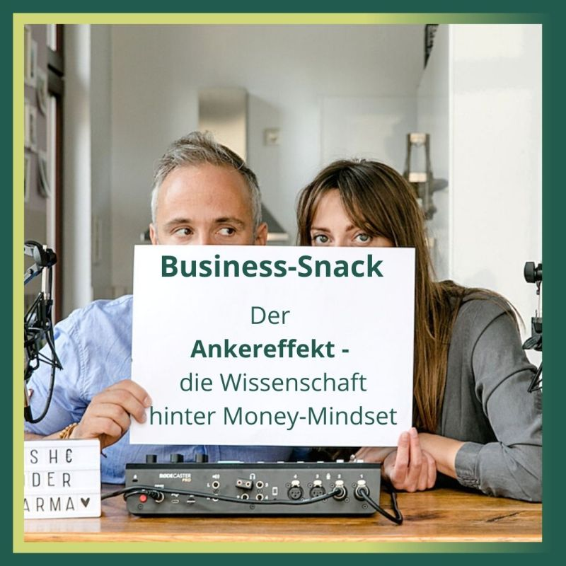 Business-Snack der Ankereffekt