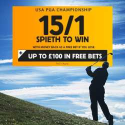 USPGA Championship 2015 betting