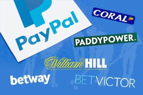 PayPal Online Bookmakers paddy power