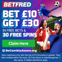betfred Cash out betting sports