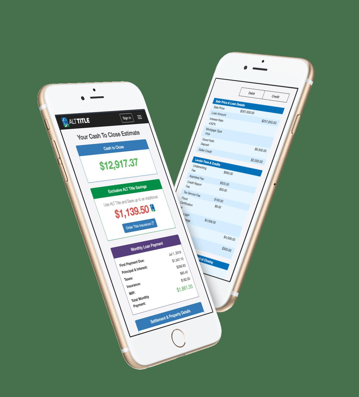 Cashtoclose Closing Cost Calculator By Alt Title
