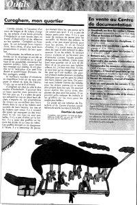 CUREGHEM MON QUARTIER article echec à l'echec 2000