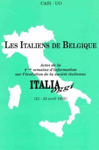 Les italiens de Belgique 1993