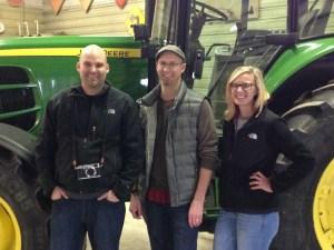 Geoff, Cameron, and Ashley-- our Nebraska friends