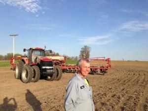 Ross Carnahan... a happy farmer