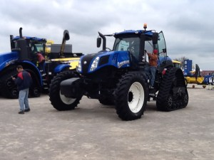 New Holland introduced a new configuration to their tractors.