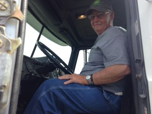 Bill Berry has been a great asset to the team this fall, often arriving extra early to deliver soybeans to ADM on the Ohio River at Newburgh, Indiana.