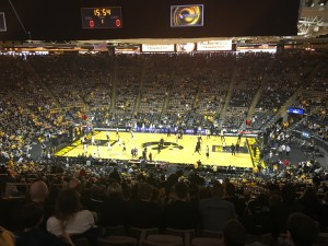 A beautiful place to see a basketball game!