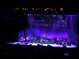 Friday night, we were entertained by none other than James Taylor!
