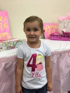 Ella, our birthday girl.