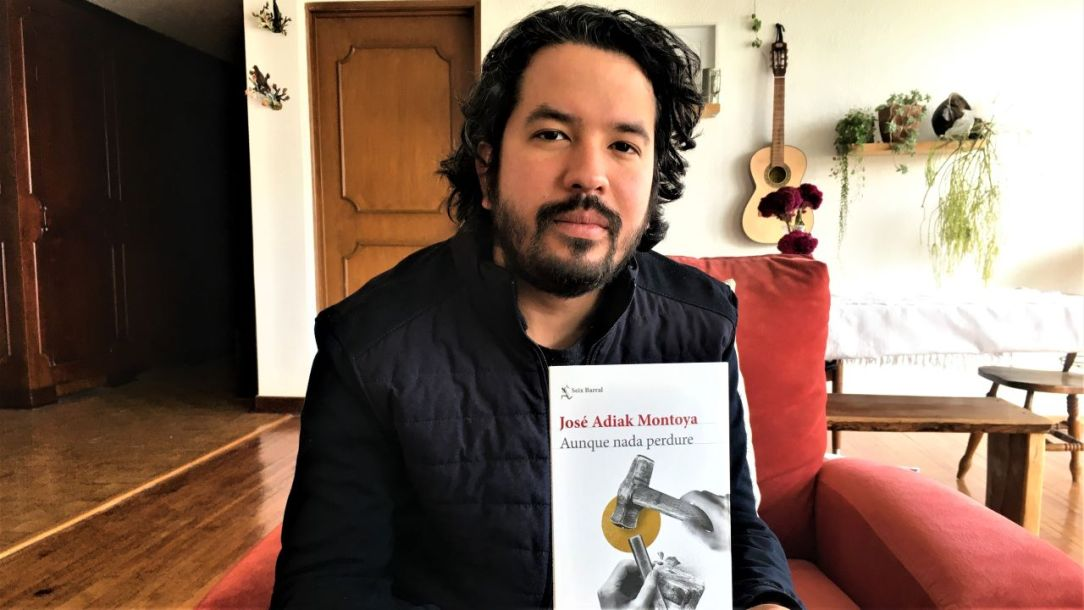 José Adiak Montoya_ Aunque nada perdure_ foto de Luza Alvarado_ Casi literal