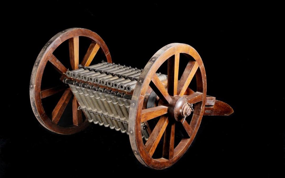 I Progetti di Leonardo: Cannone con 33 canne
