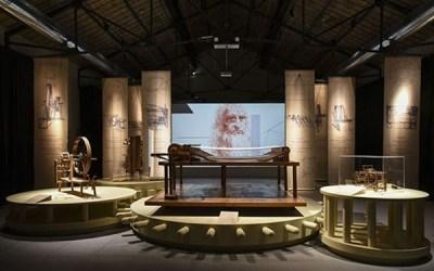 Museo del Tessuto di Prato. Leonardo da Vinci, l'ingegno, il tessuto.