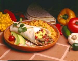 casa fiesta burrito