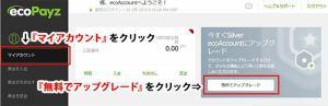 電子口座オススメNo.1のecoPayz(エコペイズ)登録方法