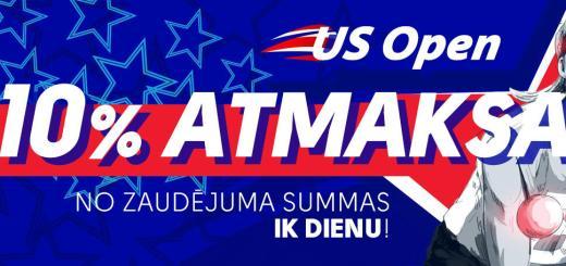 US Open atmaksa
