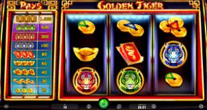 Golden Tiger spēlē kazino