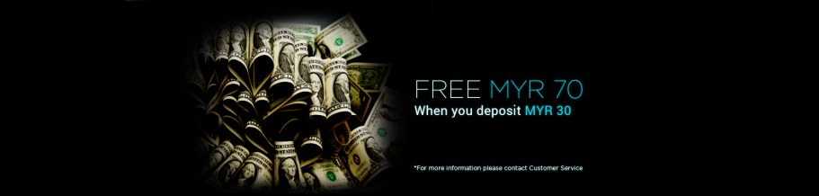 9Club Deposit RM 30 Free RM 70
