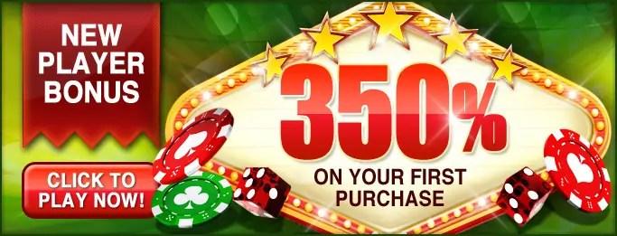 Wild Vegas Casino - New Players Sign Up Bonus 350%