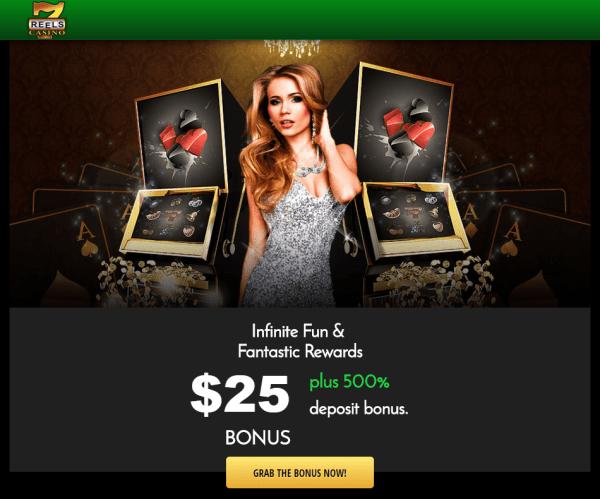 7 Reels Casino - #25 No Deposit Bonus