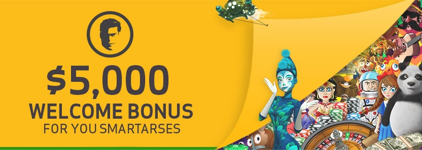 Joe Fortune $5000 Welcome Bonus
