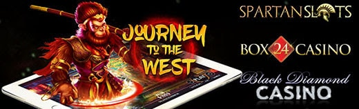 Journey to the West Pragmatic Play; Black Diamond Casino; Box 24 Casino; Spartan Slots