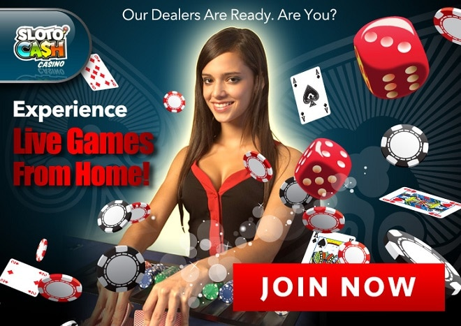 SlotoCash Casino Live Dealer Games Experience