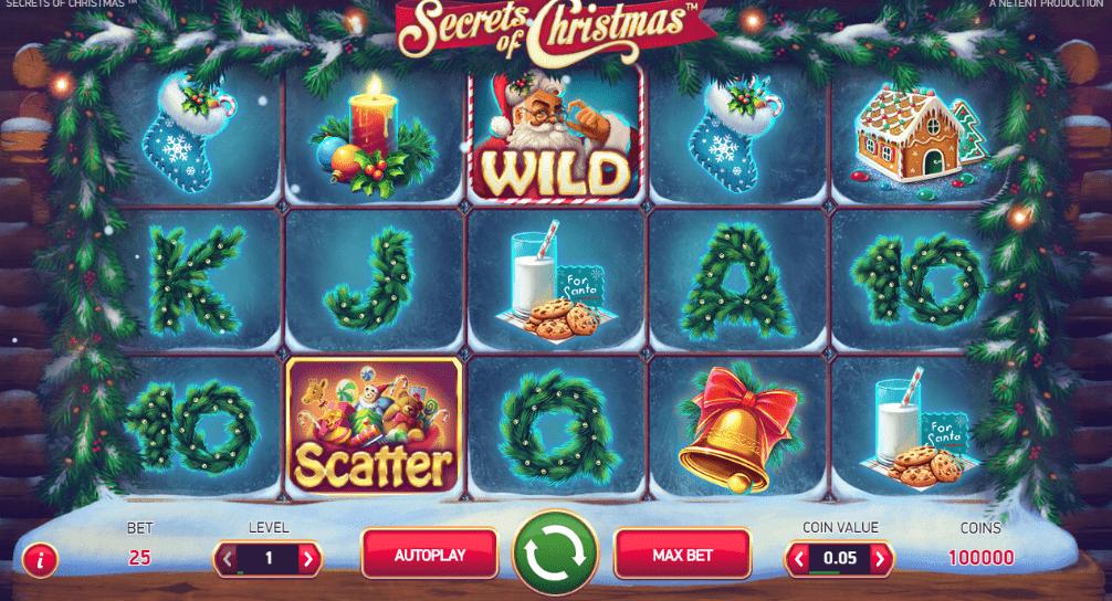 GrandWild Casino NetEnt Secrets of Christmas Holiday Season