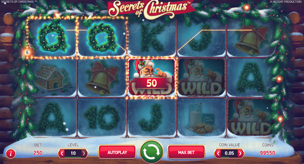 SpinEmpire Casino NetEnt Secrets of Christmas Holiday Season