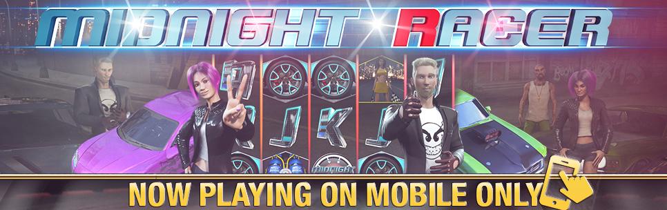Lucky Creek Casino Midnight Racer Win A Mustang