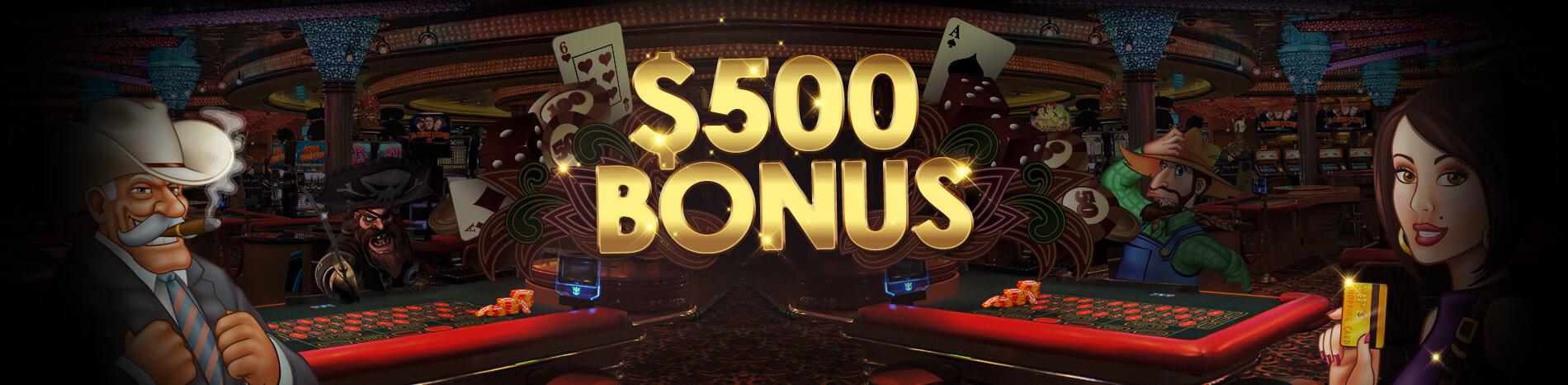 casino bonus 500