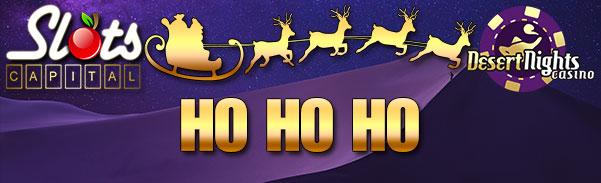 Slots Capital Desert Nights Ho Ho Ho Bonus Advent Calender