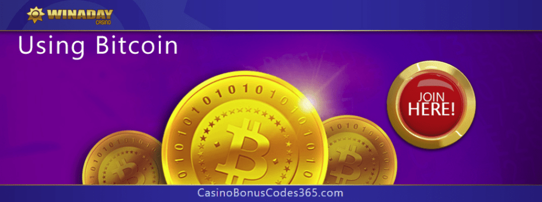 Win A Day Casino is now accepting Bitcoin