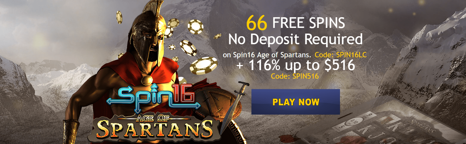 Lucky Creek Casino 66 No Deposit Free Spins Promo Casino Bonus