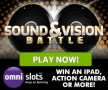 Omni Slots Sound and Vision Battle