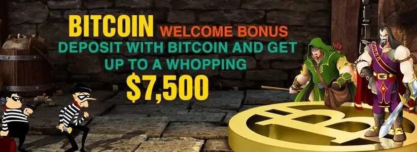 Slots LV Online Casino Bitcoin Welcome Bonus $75000