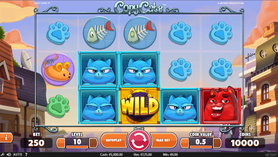 Calvin Casino NetEnt Copy Cats