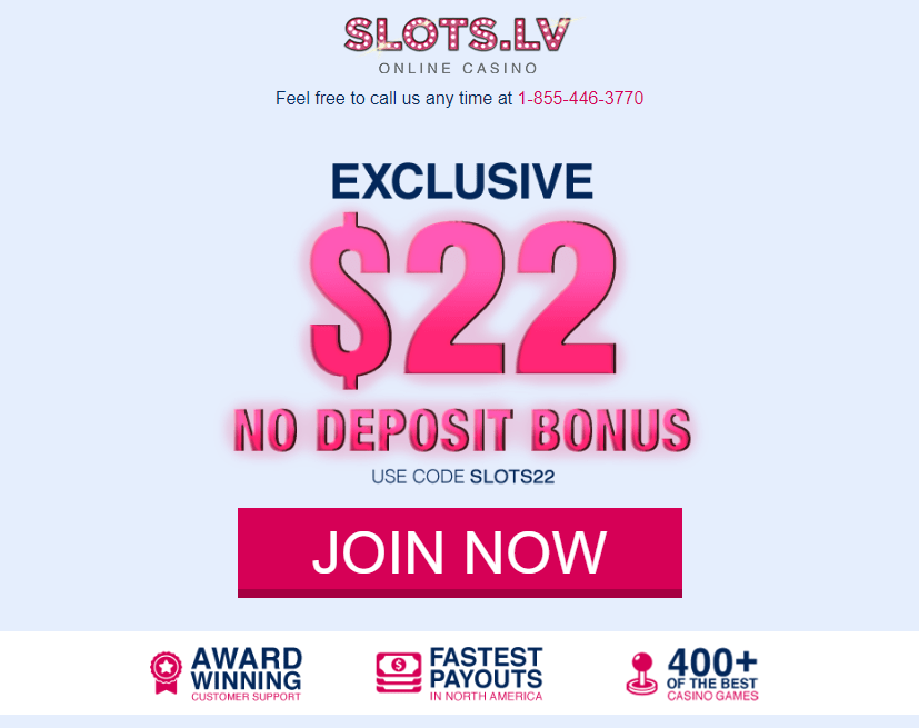 no casino deposit bonus codes for slots.lv