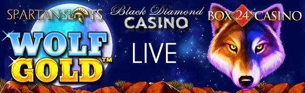 Spartan Slots Black Diamond Box 24 Wolf Gold Pragmatic Play