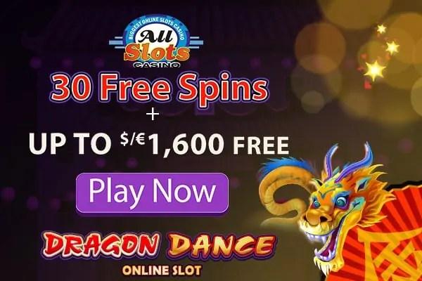 All Slots Casino Bonus Codes 2017