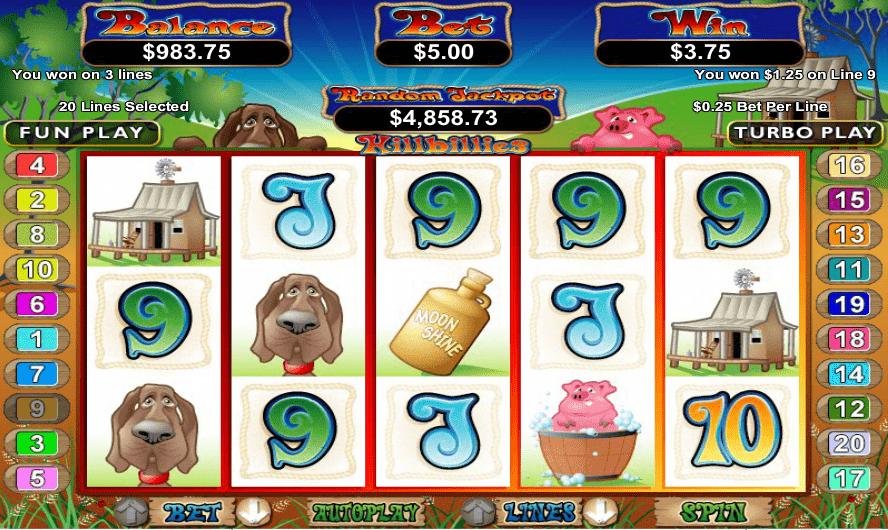 CoolCat Casino RTG Hillbillies