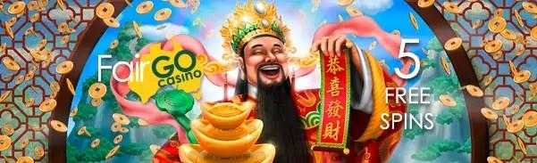 Fair Go Casino RTG God of Wealth