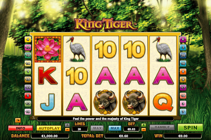 Lincoln Casino Liberty Slots WGS Vegas Technology King Tiger
