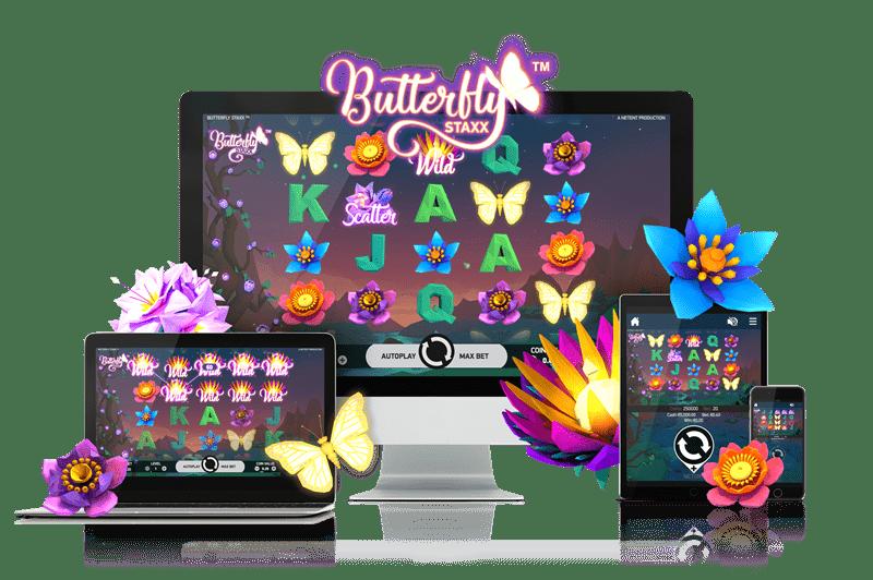 Calvin Casino NetEnt Butterfly Staxx