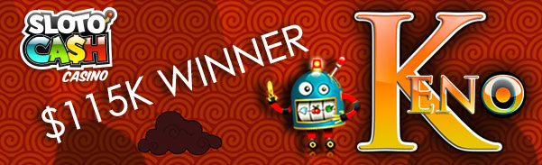 SlotoCash Casino Big Win Keno