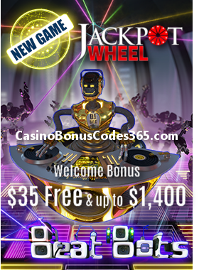 Jackpot Wheel 35 No Deposit Free Chip Casino Bonus Codes 365