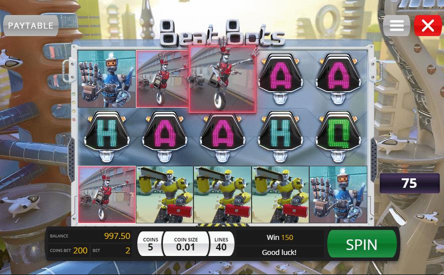 Jupiter Club Casino Genii Beat Bots 50 Free spins no deposit bonus