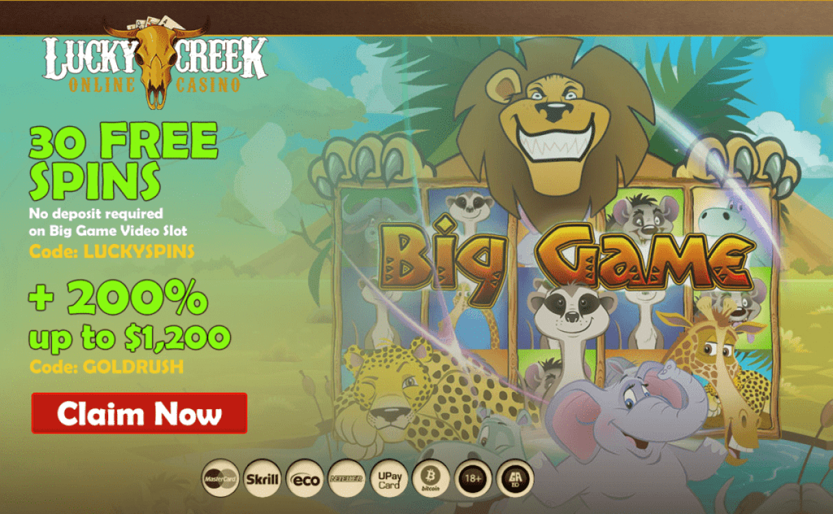 Lucky Creek Free Spins
