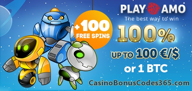 PlayAmo Casino First Deposit Bonus